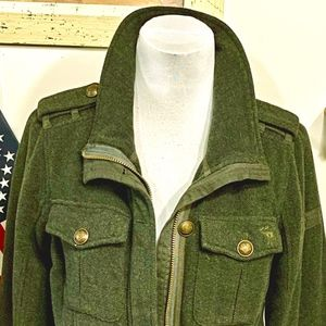 A&F military inspired jacket